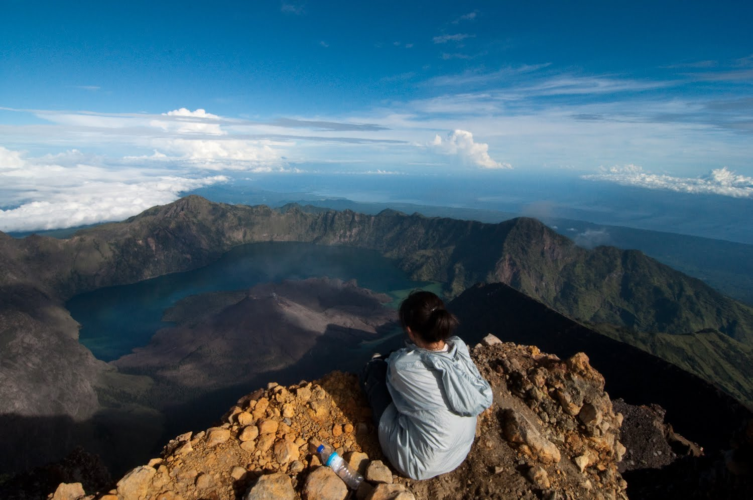 Summit of Mount Rinjani